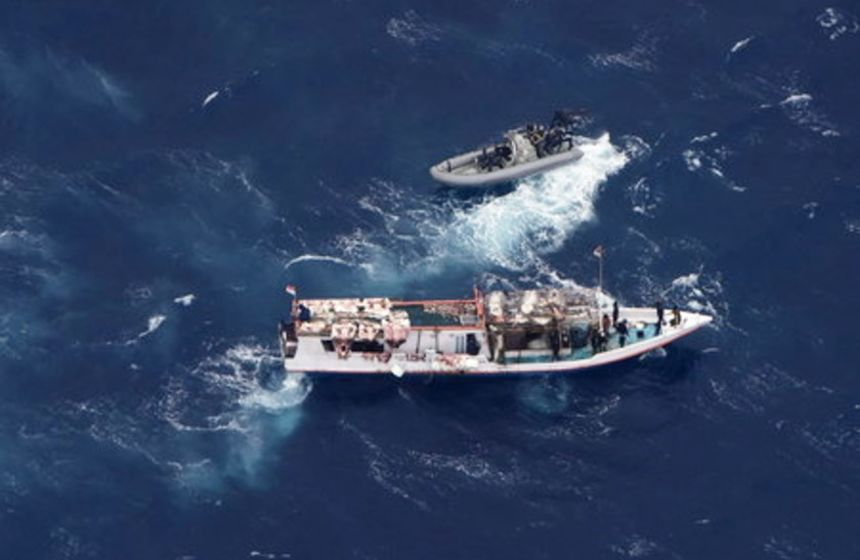 Indonesian 8 held for alleged illegal fishing