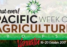 Pacific ag forum in Port Vila today