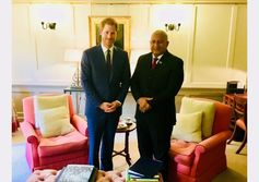 Fiji PM, Prince Harry in cooperation talks